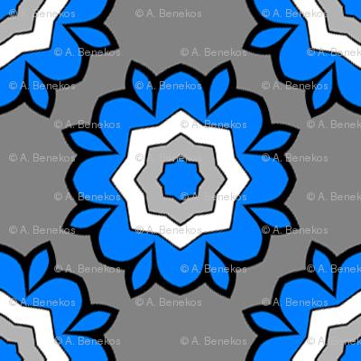 Heraldic Blossom Rose