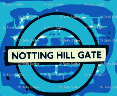 Notting Hill - blue