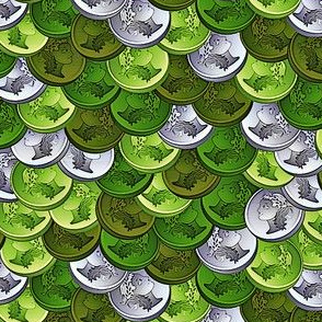 coins verde