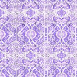 Cosmic Lavender Mists