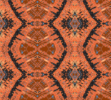 Red Dust on my Boots fabric by susaninparis on Spoonflower - custom fabric