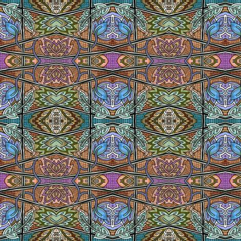 Rusting on my Laurels fabric by edsel2084 on Spoonflower - custom fabric