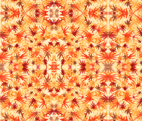 November Maple fabric by amyelyse on Spoonflower - custom fabric