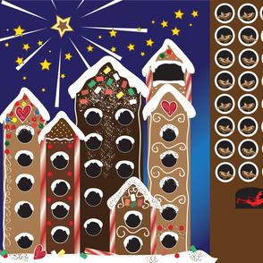 Gingerbird Holiday Calendar - Yard