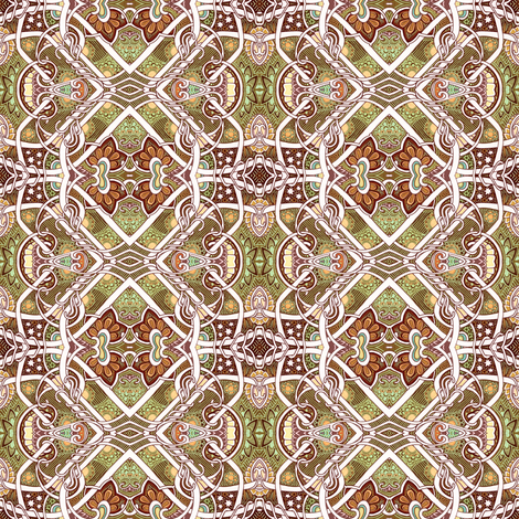 Winter Solstice fabric by edsel2084 on Spoonflower - custom fabric