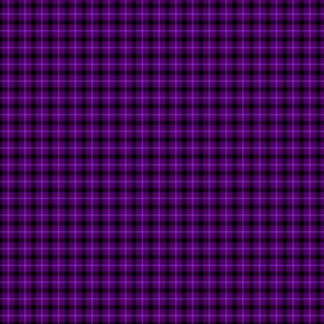 Purple Tartan fabric by tieflingknight on Spoonflower - custom fabric