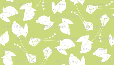 little green kite