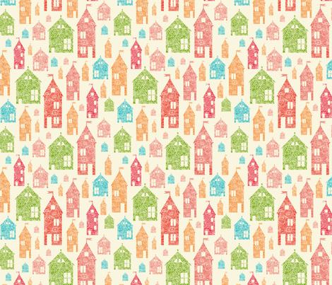 Let's Go Home fabric by oksancia on Spoonflower - custom fabric