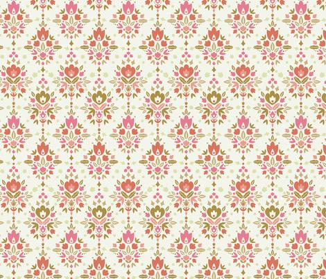 Flower Dance fabric by oksancia on Spoonflower - custom fabric