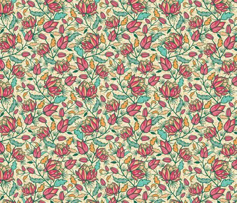 Flower Dream fabric by oksancia on Spoonflower - custom fabric