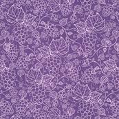 Grape Vines - Fabric Texture