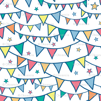 Colorful Party Bunting