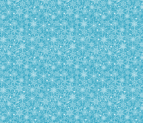 Snow Lace fabric by oksancia on Spoonflower - custom fabric
