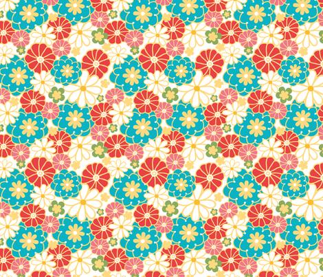 Spring Field fabric by oksancia on Spoonflower - custom fabric