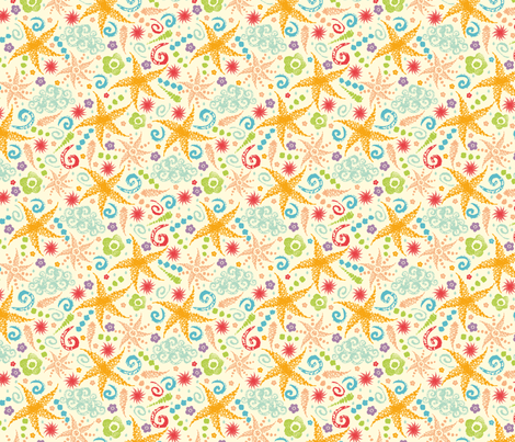 Sunny Weather Abstract fabric by oksancia on Spoonflower - custom fabric