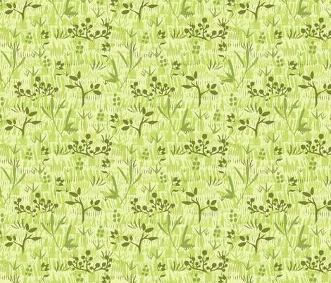 Wild Field fabric by oksancia on Spoonflower - custom fabric