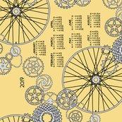 Rbeautiful_bicycle_parts_2019_calendar_tea_towel_pear_yellow_shop_thumb