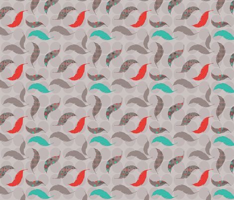 Chicken or the Egg? fabric by run_quiltgirl_run on Spoonflower - custom fabric