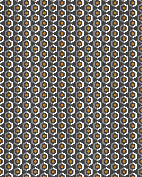 UMBELAS HEXO 3 fabric by umbelas on Spoonflower - custom fabric