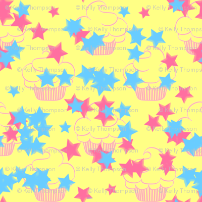 Little Cup Cakes- Sparkle