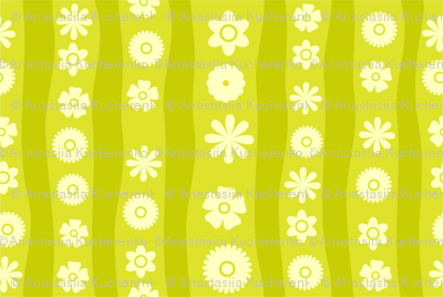Vector Seamless Flowers