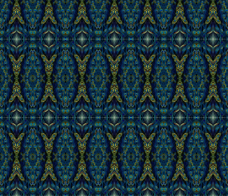 peacock_feather fabric by barakatblessings on Spoonflower - custom fabric