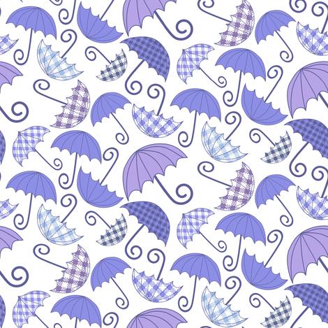 Umbrellas fabric by kezia on Spoonflower - custom fabric