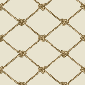 Large Crab Netting - Neutrals