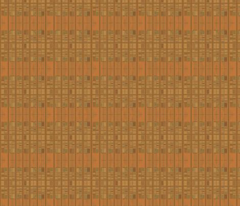 Cozy Grid Horizontal Stripe © Gingezel™ 2012 fabric by gingezel on Spoonflower - custom fabric