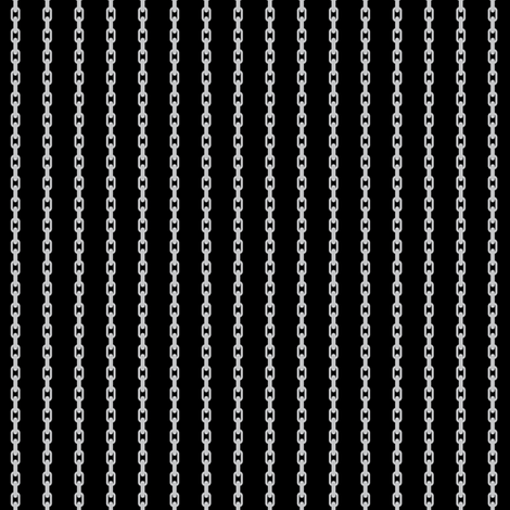 Forged Metal Chains (Small Print) fabric by taracrowleythewyrd on Spoonflower - custom fabric