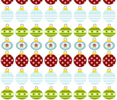 Whimsy Ornaments fabric by natitys on Spoonflower - custom fabric