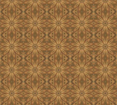 Sunflower Large © Gingezel™ 2011 fabric by gingezel on Spoonflower - custom fabric