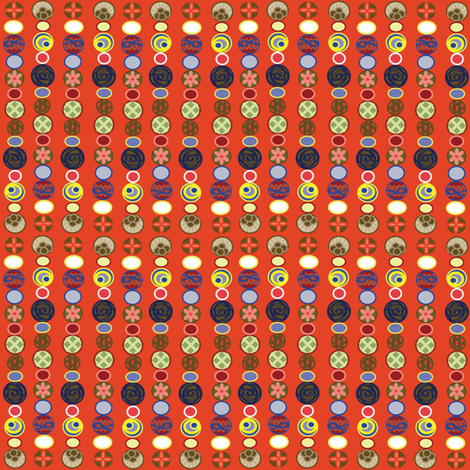 circleLines1 fabric by chooks on Spoonflower - custom fabric