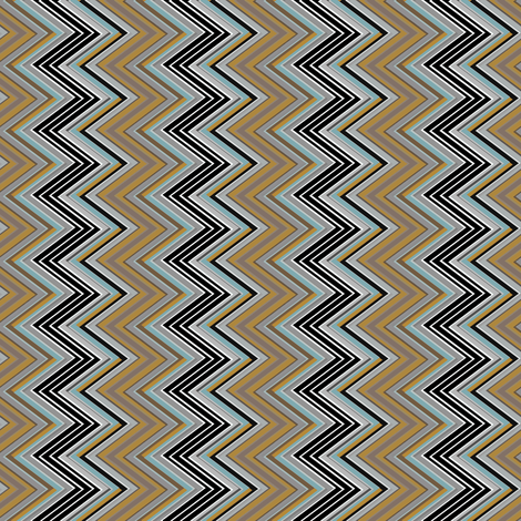 Zig Zag Vertical earth tone fabric by joanmclemore on Spoonflower - custom fabric