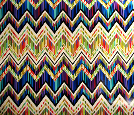 Zig Zag Stained Glass