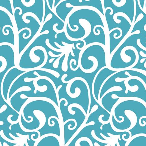 Swirly wirly fabric by kezia on Spoonflower - custom fabric