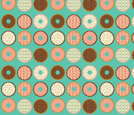 donuts fabric by heidikenney on Spoonflower - custom fabric