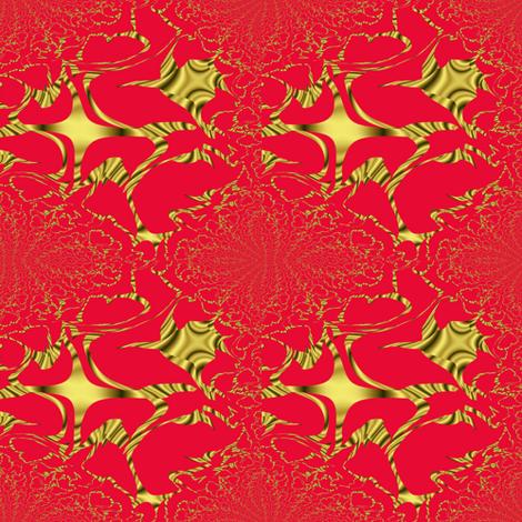 SANTINA fabric by angelsgreen on Spoonflower - custom fabric
