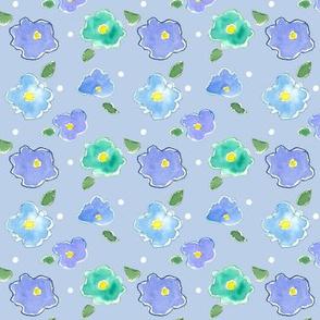Powder Blue Blossom