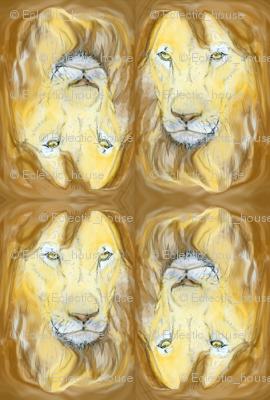 Lion portrait 2