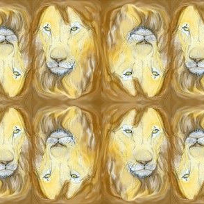 Lion portrait 2