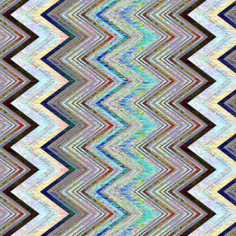 Chevron Luminous fabric by joanmclemore on Spoonflower - custom fabric