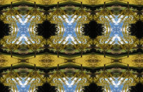 Ginko tree, Japanese gardens Toowoomba. fabric by itsjustgreat on Spoonflower - custom fabric