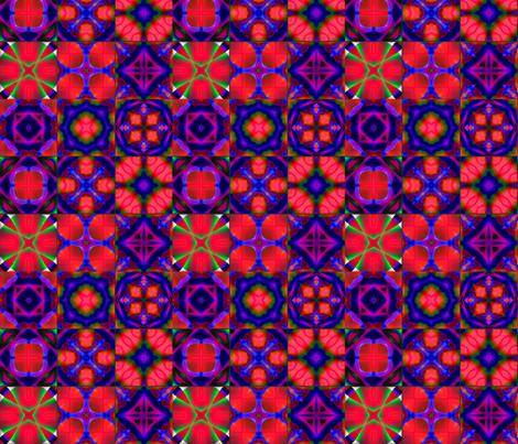 9 Tiles fabric by koalalady on Spoonflower - custom fabric