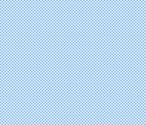 My Garden Dots Coordinate Blue ©2011 by Jane Walker fabric by artbyjanewalker on Spoonflower - custom fabric