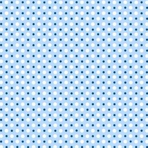 My Garden Dots Coordinate Blue ©2011 by Jane Walker
