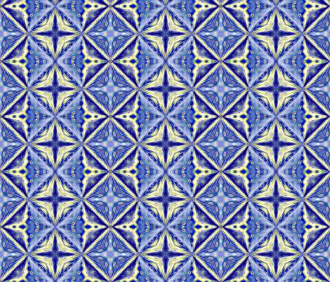 Blue_Holland fabric by koalalady on Spoonflower - custom fabric