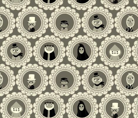 Christmas Carol fabric by heidikenney on Spoonflower - custom fabric