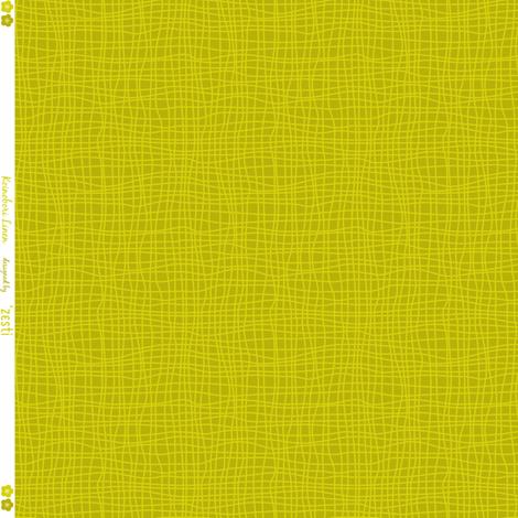 Koi No Bori Linen Lime fabric by zesti on Spoonflower - custom fabric