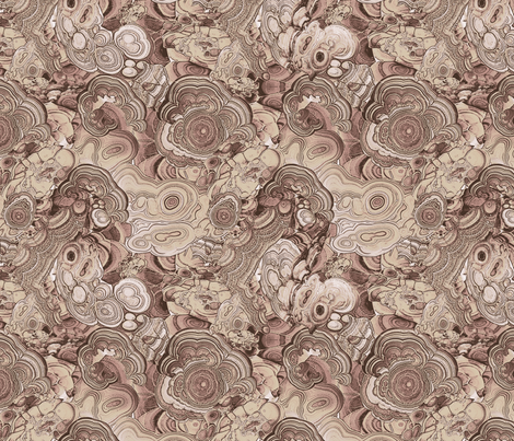 Agate brown fabric by ravynka on Spoonflower - custom fabric